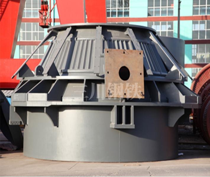 60吨转炉上段