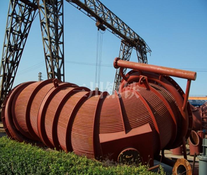 50吨转炉烟道2