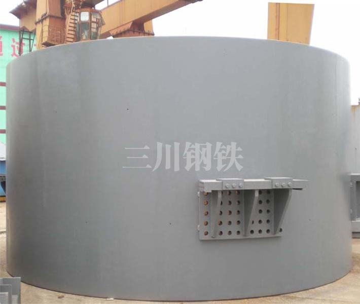 120吨转炉中段