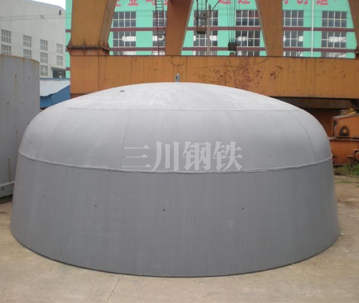 120吨转炉下段