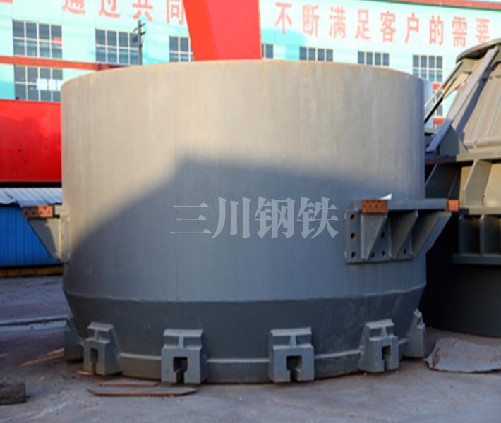 60吨转炉下段