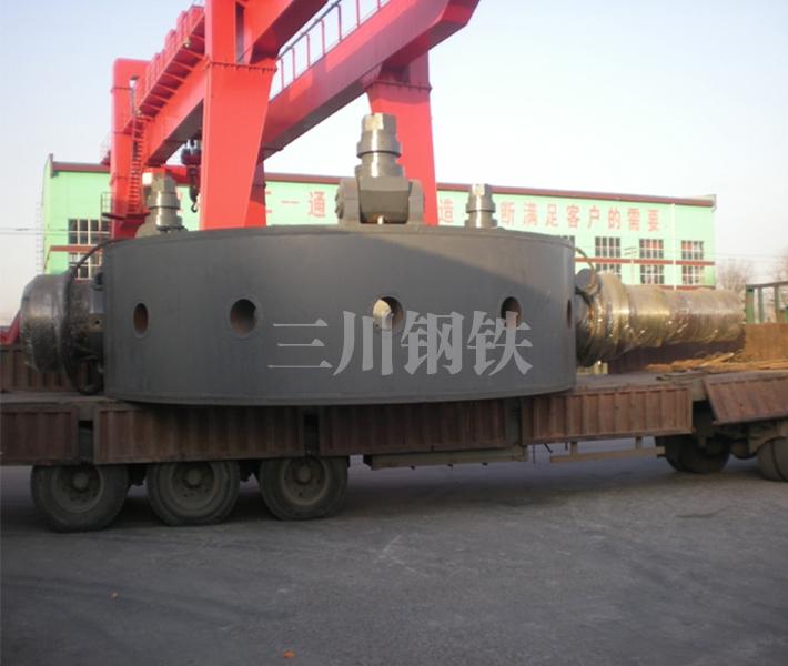 50吨转炉托圈本体