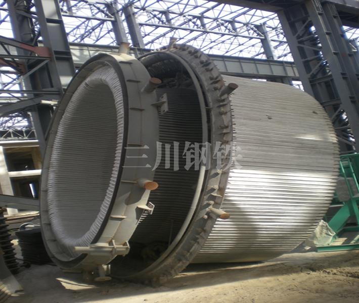 120吨转炉烟道