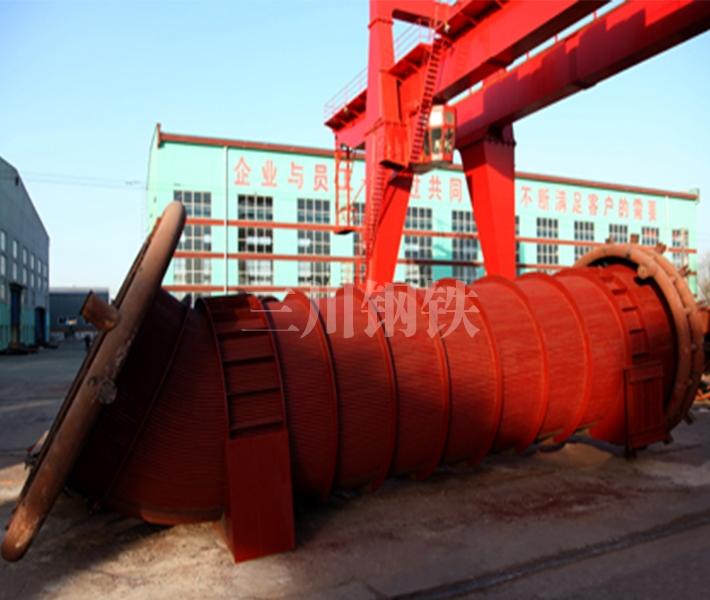 80吨转炉烟道2