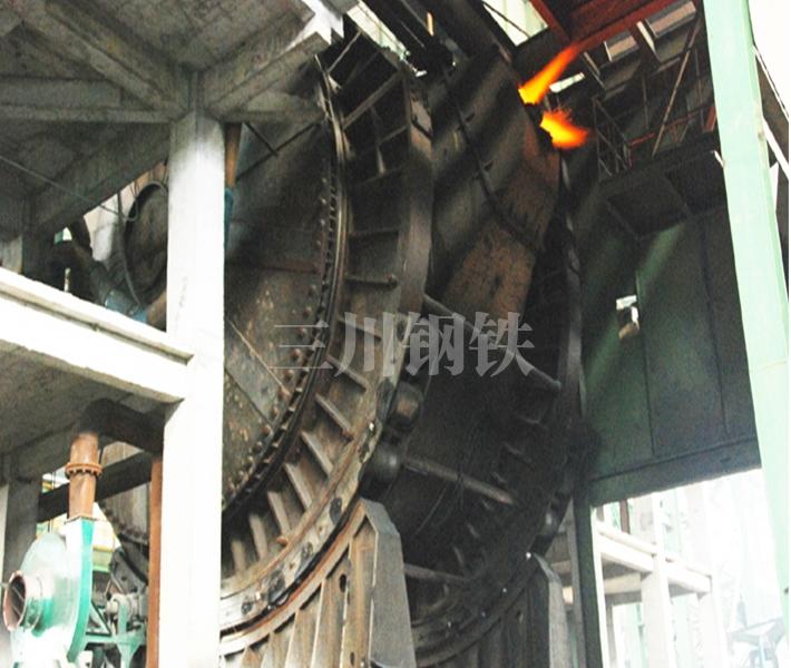 唐山三川机械1300吨混铁炉