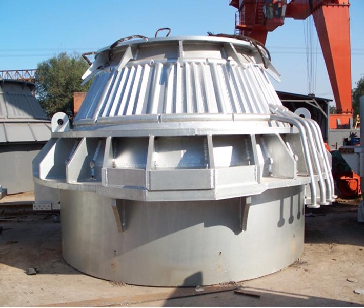 50吨转炉上段