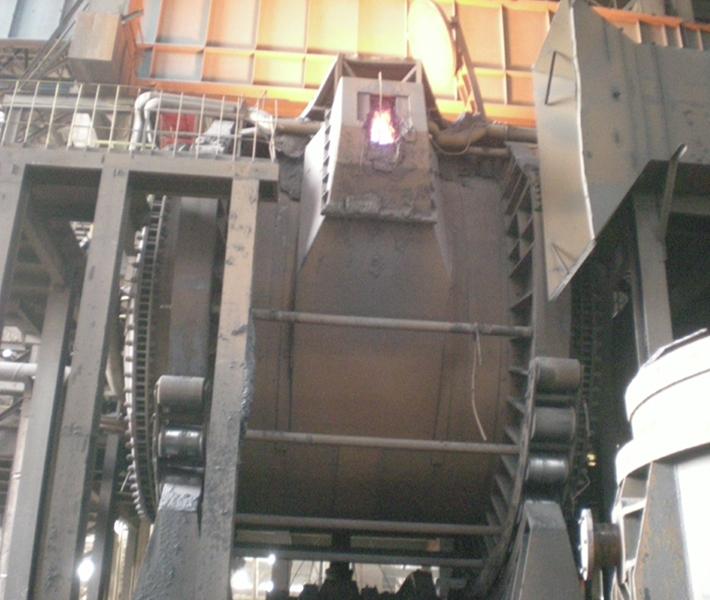 900吨混铁炉